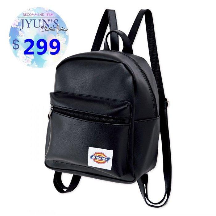 Dickies日本雙肩包雜誌款附錄女包包背包 簡約學院風街頭時尚百搭迷你潮包皮革後背包 1色預購JYUN'S