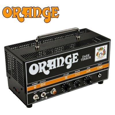 〖好聲音樂器〗英國 ORANGE Dark Terror 真空管音箱頭 15W擴大機 DA-15-H