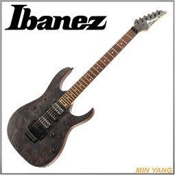 【民揚樂器】電吉他 Ibanez RG470PB-TGF 黑色木紋印尼廠