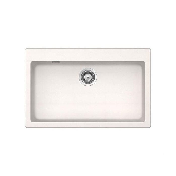 【路德廚衛】德國原裝進口SCHOCK花崗岩水槽R79-99 白色