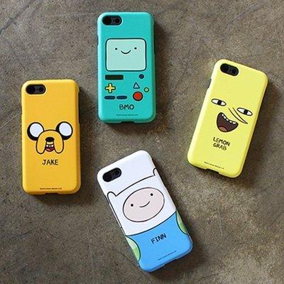 Adventure Time 探險活寶 雙層防摔手機殼│iPhone 5S SE 6 6S 7 8 Plus│z7750
