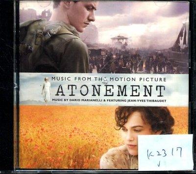 *真音樂* ATONEMENT 二手 K2317 (封面底破.CD有缺口不影響讀取) (清倉.下標賣5)