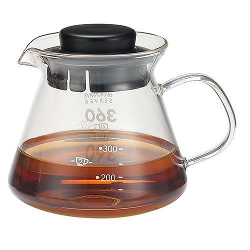 省錢工坊-方把耐熱玻璃壺360cc【暢銷基本款】濾網泡茶壺 咖啡壺 花茶壺 開水壺 養生壺 濾杯底座
