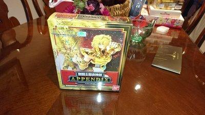 全新 未拆 聖鬥士星矢 聖衣神話 APPENDIX 黃金聖衣 獅子座 艾奧里亞 胸像