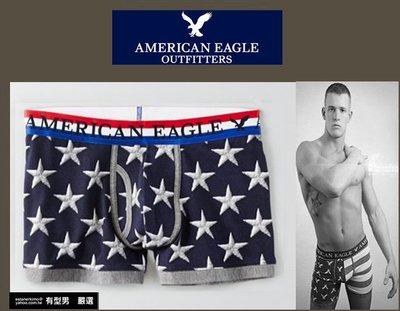 有型男~ AE American Eagle VS CK內褲 短版星條旗 XS S M L 2XL 貝克漢 NMD 潮流
