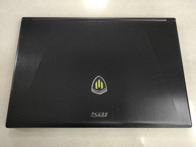 ☆【微星 MSI GS60 6QE 中古機 二手機 雙硬碟 頂級電競 I7 6700HQ 16G GTX970】