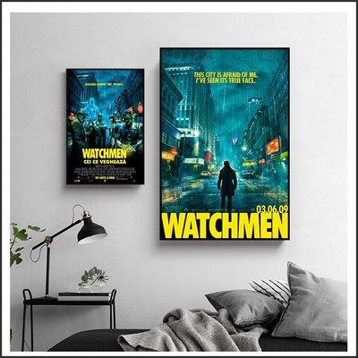 日本製畫布 電影海報 守護者 Watchmen 掛畫 無框畫 @Movie PoP 賣場多款海報~