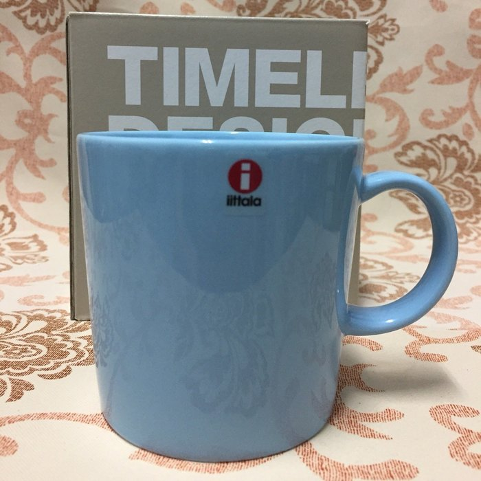 芬蘭國寶品牌 iittala Teema 系列馬克杯_睛空藍_全新品