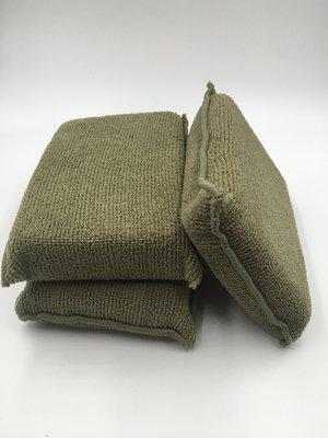 亮晶晶小舖-超細纖維擦拭海棉 多功能用途 洗車海綿 上蠟棉 皮革乳海棉 鍍膜海棉