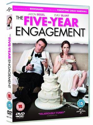 合友唱片 面交 自取 五年之約 Five Year Engagement DVD