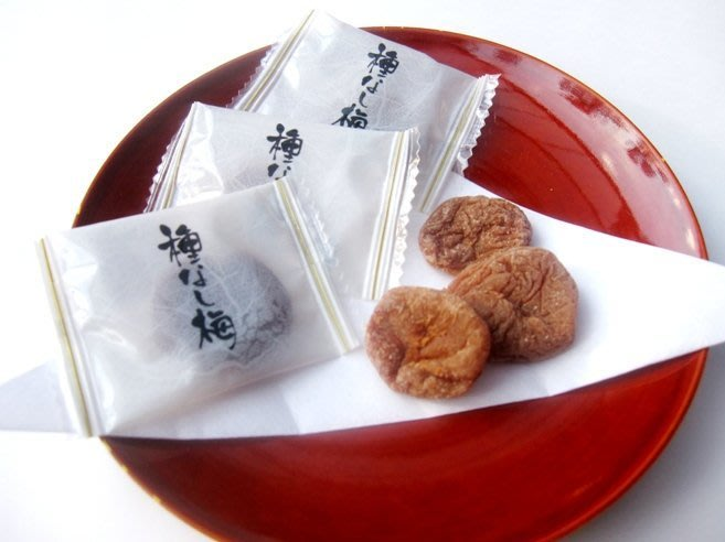 梅干--日本境內無籽梅干/日本梅乾/無籽梅肉/種なし干し梅270g大包裝--秘密花園