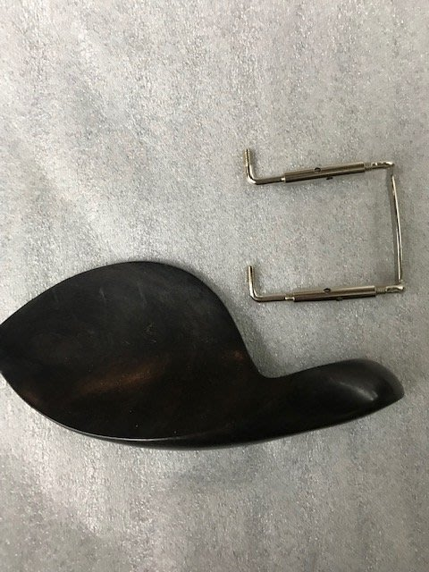 筌曜樂器 全新 黑檀木 跨式 側邊型 小提琴 腮托 肩托 (有木紋絕非染黑木.尺寸 4/4) 超低價