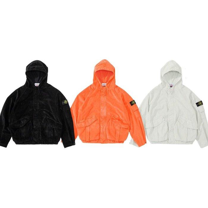 【紐約范特西】預購 Supreme FW20 Stone Island Corduroy Jacket 夾克