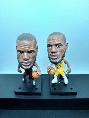 NBA 可動式小公仔 字母哥 Irving Kobe LeBron curry Durant harden rose westbrook anthony 麥法蘭