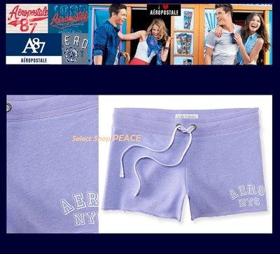 Aeropostale 美國【現貨】M號 休閒 短褲 Aero NYC Knit Cutoff