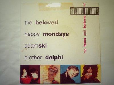 當年Record Mirror雜誌附贈的7黑膠唱片。The Beloved Happy Mondays Adamski