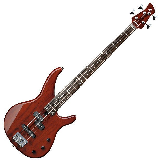 【六絃樂器】全新 Yamaha TRBX174 EW RTB 紅褐色木紋電貝斯 / 桃花心木琴體 覆奇特紋路