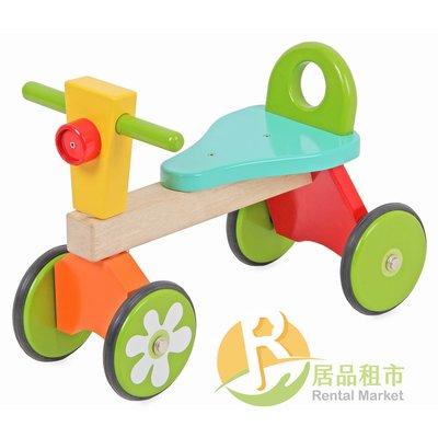 【居品租市】 專業出租平台 【出租】  mentari 木頭玩具 小騎士溜溜四輪車