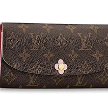 全新Louis Vuitton M64202 EMILIE 錢包