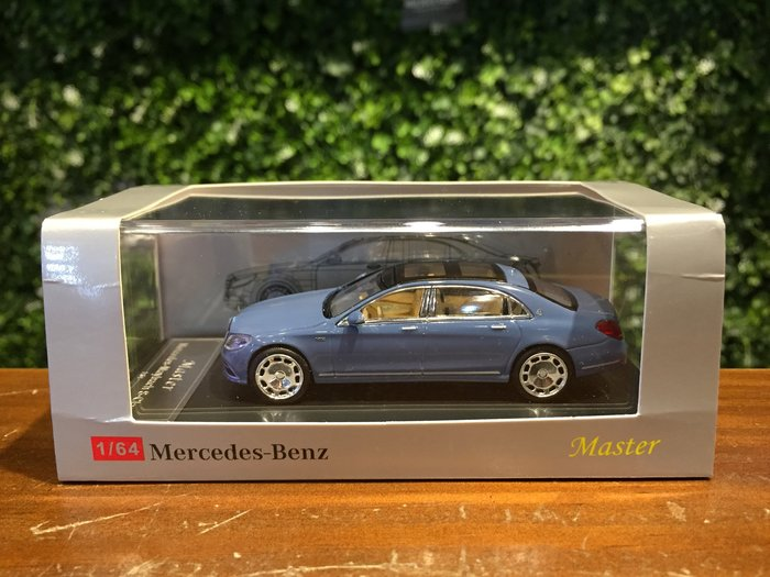 1/64 Master Mercedes-Maybach S-Class S680 Ice Blue【MGM】