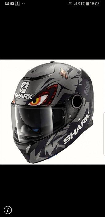 威盛重車裝備店*SHARK  SPARTAN  彩繪全罩安全帽,特價優惠中