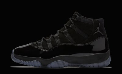 "Nike Air Jordan 11 High  ""Cap and Gown"" 黑藍 全黑 (霸王福利社) JORDAN"