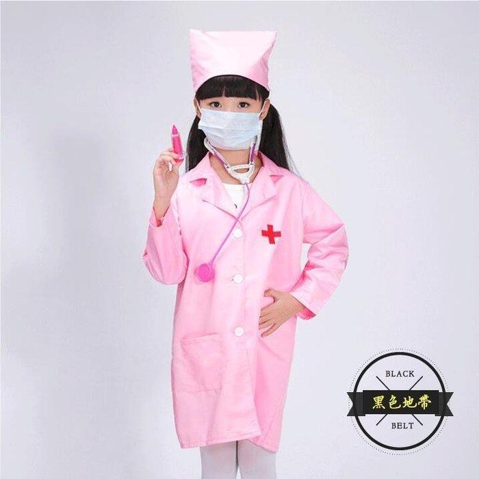 幼兒園兒童男童醫生服飾女小護士角色職業扮演表演服裝白大褂【全館免運】
