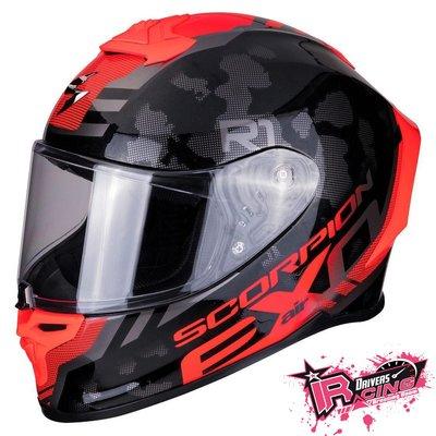 ♚賽車手的試衣間♚ Scorpion® EXO R1 Air OGI B/R 頂級 最新 安全帽