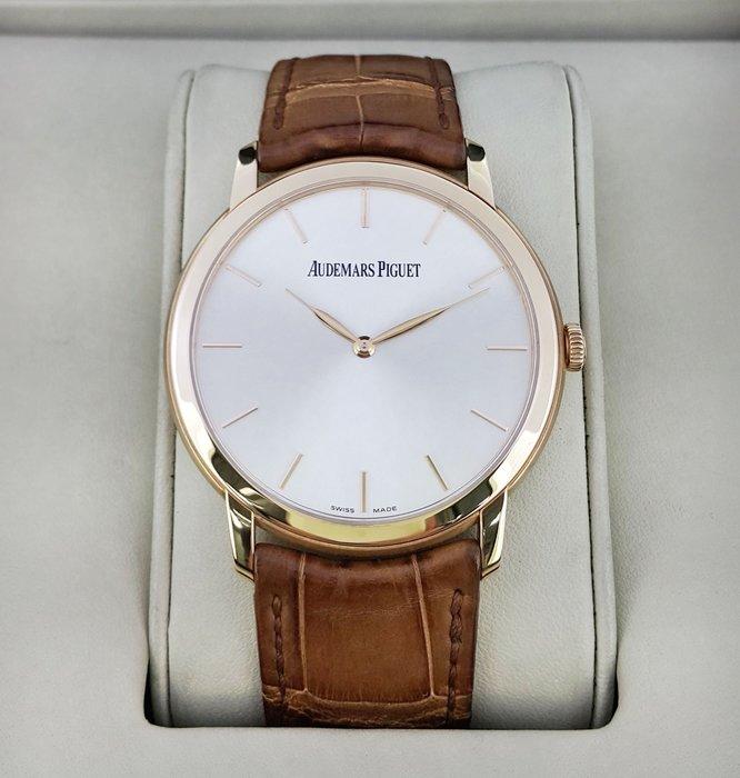【英皇精品集團 】  Audemars Piguet 愛彼 AP 透明錶背  18K玫瑰金 自動機械薄錶