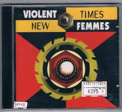 [鑫隆音樂]西洋CD-暴力妖姬 Violent Femmes : 新時代[075596155328] 全新/免競標