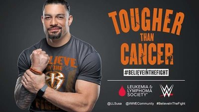 ☆阿Su倉庫☆WWE Roman Reigns Tougher Than Cancer Tee RR戰勝癌症最新款熱賣中