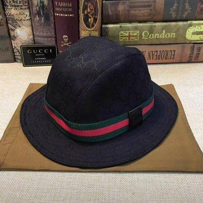GUCCI旅遊帽圓邊帽、棒球帽(四季皆宜)。