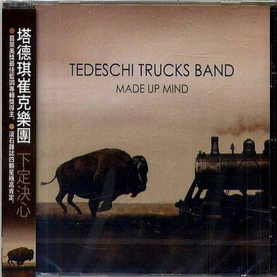 塔德琪崔克樂團 Tedeschi Trucks Band / 下定決心 Made Up Mind --- 88883742142