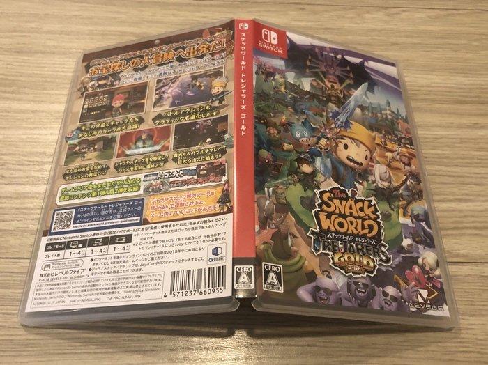Nintendo Switch NS The SNACK WORLD 點心世界 黃金版 純日版 售 1600