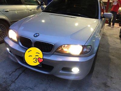 DJD18070213 全新BMW 03 04 05 06年E46小改款318CI 320CI 325CI黑框魚眼大燈