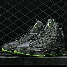 Air Jordan 13 Altitude 黑綠 好搭 中幫 經典 休閒 籃球鞋 414574-042 男