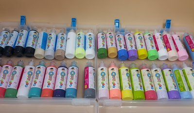 【五旬藝博士】 玻璃彩繪隨意貼 36色/40支 (60ML) 創意美術 窗貼DIY禮盒 大容量 色澤漂亮 隨意貼 台灣製