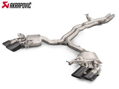 【樂駒】Akrapovic PORSCHE MACAN S 95B 2018 排氣管 尾段 碳纖維 尾飾管 改裝 底盤