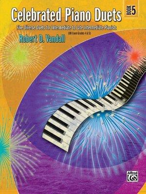 【599免運費】Celebrated Piano Duets, Book 5 Alfred 00-24552