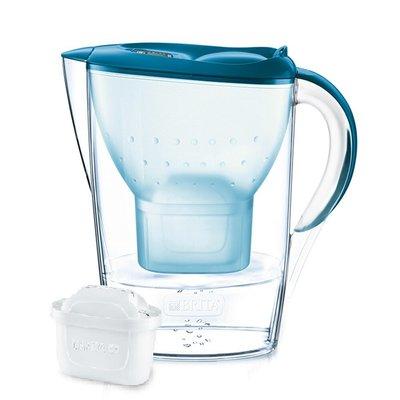 德國BRITA Marella 馬利拉型濾水壺2.4L 濾水壺/藍【內含濾芯x1 屏東縣