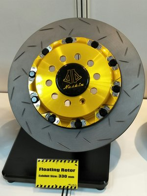 DJD18080747世盟 Nashin 一體式鋁合金四卡鉗 330/345mm碟盤 擁有最多安裝