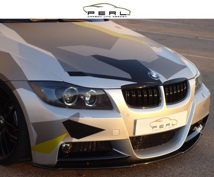 【樂駒】Perl Carbon Design BMW 3er E90 E91  M-Paket 碳纖維 前下擾流 前下巴