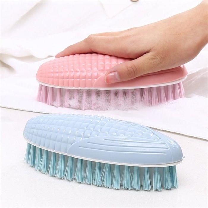 洗衣刷 洗鞋刷 清潔刷 家事刷 玉米造型好握好拿-艾發現