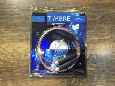 大宇宙音響:KIMBER KABLE TIMBRE平衡訊號線1米中古品出清
