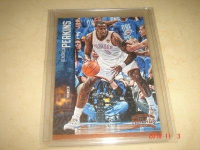 美國職籃 NBA Thunder Kendrick Perkins  2012 Panini  #102 球員卡