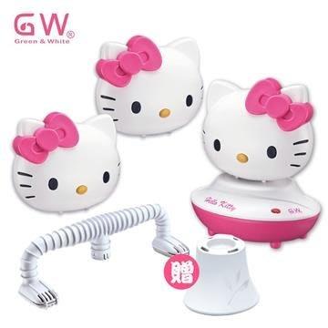 【GW X Hello Kitty】 水玻璃除濕機 三機組 (3除濕機、1還原座、1薰香台、1烘鞋管)