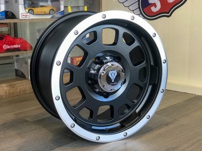 小李輪胎 雅泛迪 M1604 17吋 全新鋁圈 Ford KIA 三菱 豐田 現代 鈴木 5孔6孔139.7車適用