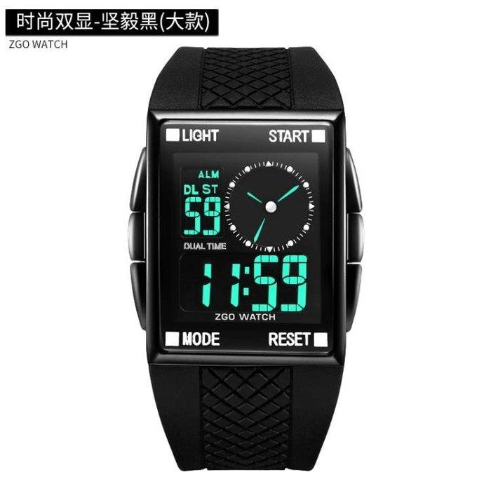 手錶潮男中學生青少年兒童男孩韓版防水初中男男童運動電子錶