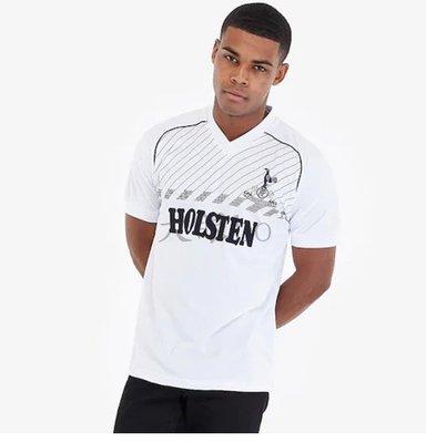 SPURS 2186 retro shirt復古英格超熱蘭刺足球衣服