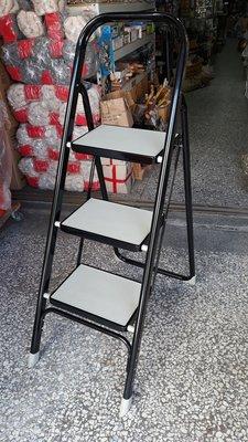 [便宜五金] 三階豪華梯 家用鋁梯 安全梯 收納梯 折疊梯 鋁梯 折疊樓梯椅 樓梯椅 樓梯 耐重樓梯 踏板樓梯